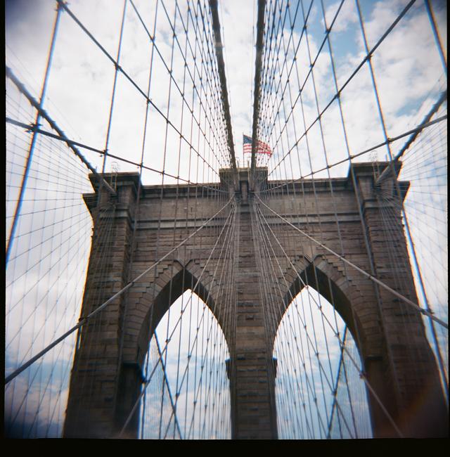 diana, lomograpghy, nyc, brooklyn bridge