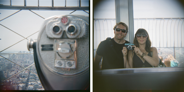 diana, lomograpghy, nyc, empire state building